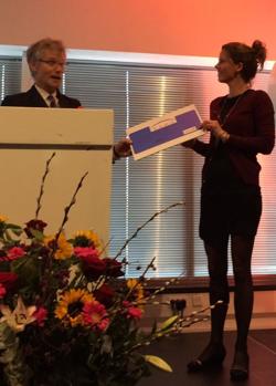 Daisy Ooms wint Stimuleringsprijs 2016