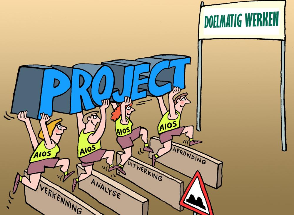 Doelmatig leren werken door projecten te doen